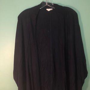 Dolman sleeve soft cardigan